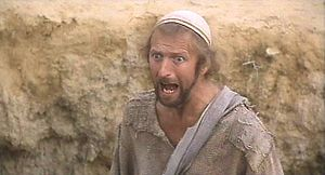 Chapman as Brian Cohen in Life of Brian