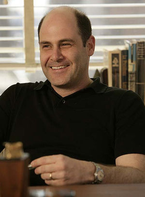 English: Screenwriter Matthew Weiner