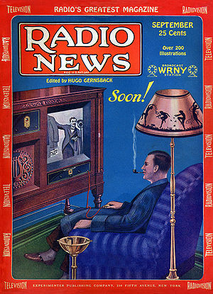 Television was still in its experimental phase...