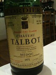 1971 Château Talbot